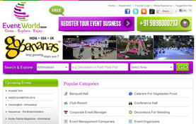 Event World India Website Design