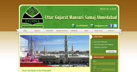 Uttar Gujarat Mansuri Samaj-A Social Community Website